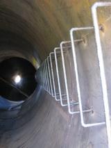 Лестницы силоса